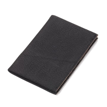 Étui pour cartes de visite Kniff2 S-Grip de Troika en noir