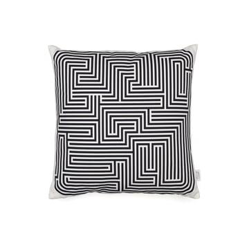 Coussin Maze par Vitra en noir 40x40