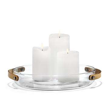 Holmegaard - Design with light bougeoir, 24 cm