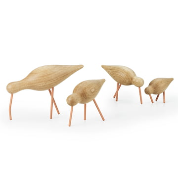 Normann Copenhagen - Shorebird, corail