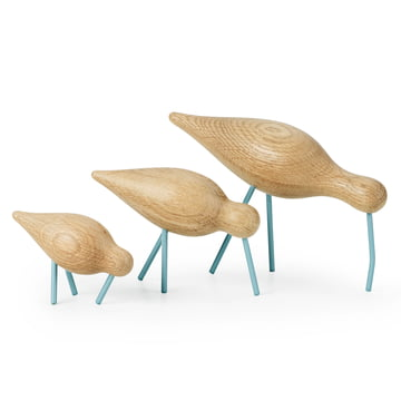 Normann Copenhagen - Shorebird, seablue