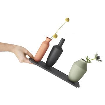 Muuto - Balance Vase (ensemble de 3 vases), Block Colour, basculé