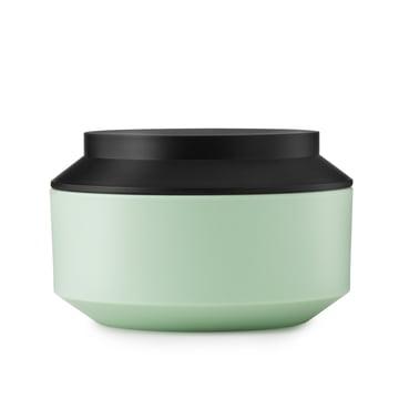 Normann Copenhagen - Boîte de rangement Geo Jar, vert menthe/noir Ø 15cm