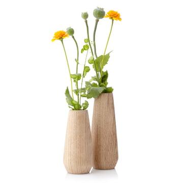 applicata - Vase Torso, chêne, fleurs