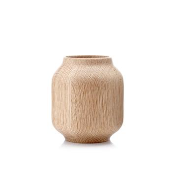 applicata -Vase Poppy petit, chêne