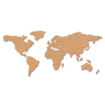 Luckies - Corkboard Map panneau d'affichage