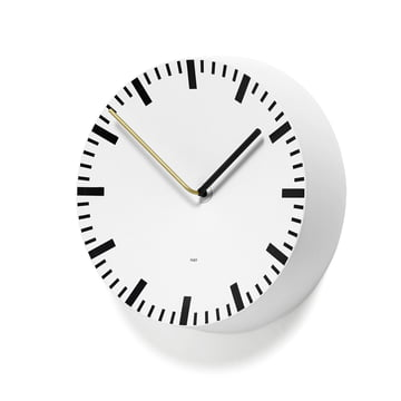 Hay - horloge Analog, blanc