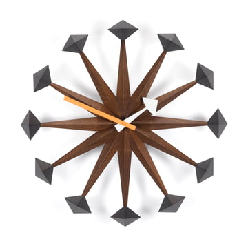 Vitra - Polygone Clock, noyer