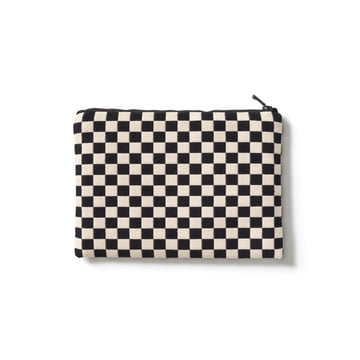 Vitra - Zip Pouch, noir / blanc, medium