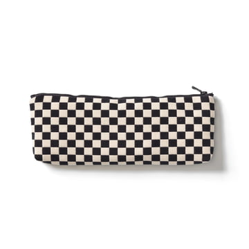 Vitra - Zip Pouch, noir / blanc, small
