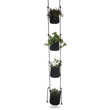 Trimm Copenhagen - Pots suspendus Vertical Flowerpot, noir