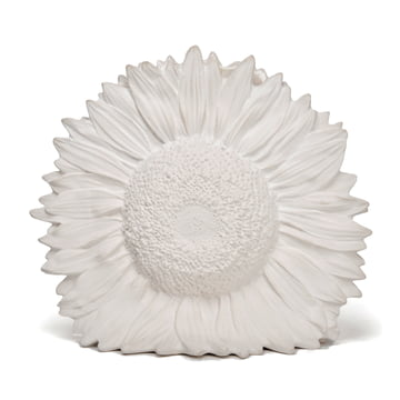 areaware - vase Sunflower, blanc