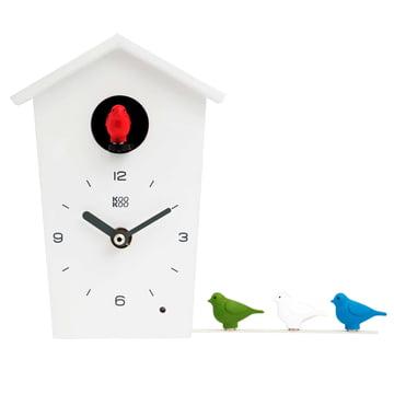 KooKoo - Bird House Mini, blanc