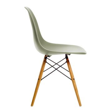 Vitra - Eames Plastic Side Chair DSW, érable jauni / gris mousse