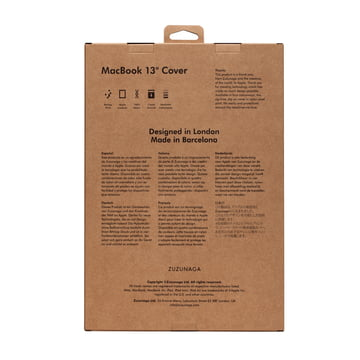 Zuzunaga - MacBook Case 13'', emballage