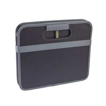 meori - Boîte pliante classique 30litres, noir uni