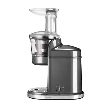 KitchenAid - Extracteur de jus en argenté métallisé sans récipient