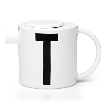 Design Letters - Théière en porcelaine AJ
