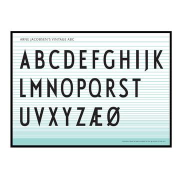 Design Letters - Poster ABC 50x70cm