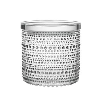 Kastehelmi boîte de rangement 116 x 114 mm d'Iittala en verre clair