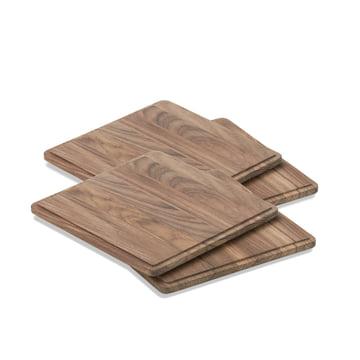 4 pièces en bois de teck