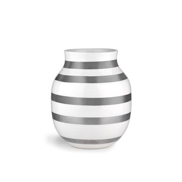 Kähler Design - Vase Omaggio H 200, argenté