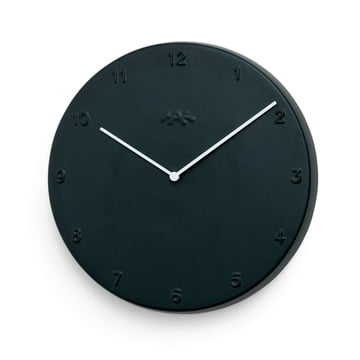 Kähler Design - Horloge murale Ora 30cm en noir mat