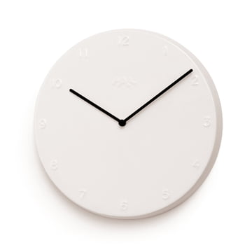 Kähler Design - Horloge murale Ora 30cm en blanc