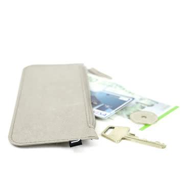 Trousse/portefeuille Wallet de Novoformen gris