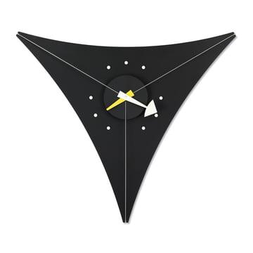 Nelson Triangle Clock par Vitra en noir