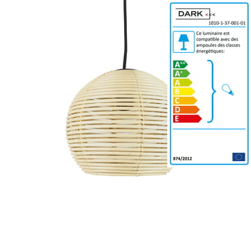 Suspension lumineuse sangha de dark for Suspension lumineuse