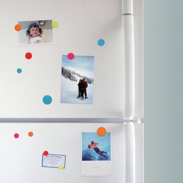 Aimants colorés pour le réfrigérateur