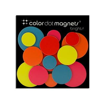 Aimants Color Dot de ThreeByThree dans un pack de 15