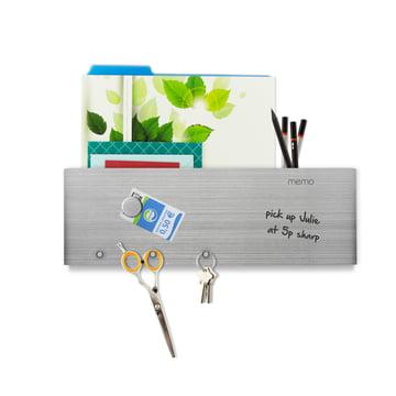 Bande magnétique inscriptible avec classement du courrier et crochet