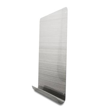 Tableau magnétique avec surface de rangement en acier inoxydable