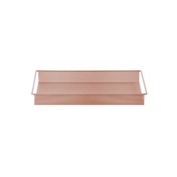 Metal Tray Small de ferm Living en rose