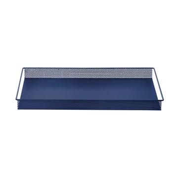 Metal Tray Large de ferm Living en bleu