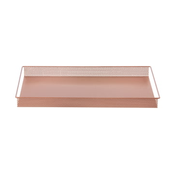 Metal Tray Large de ferm Living en rose