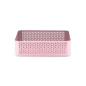 Boîte de rangement Nic Nac 22,5x22,5cm de Normann Copenhagen en rose