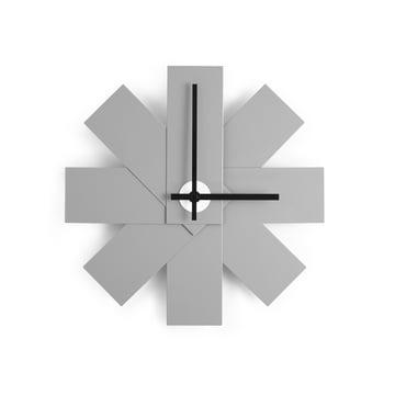 Normann Copenhagen - Horloge murale Watch me, gris
