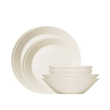 Iittala - Teema Set de démarrage, blanc, 8 pièces