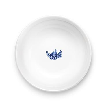 Bjørn Wiinblad - coupe Rosamunde, bleu