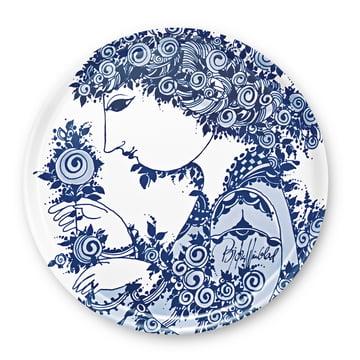 Bjørn Wiinblad - Plateau Rosamunde, bleu