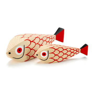 Wooden Dolls Mother Fish & Child par Vitra