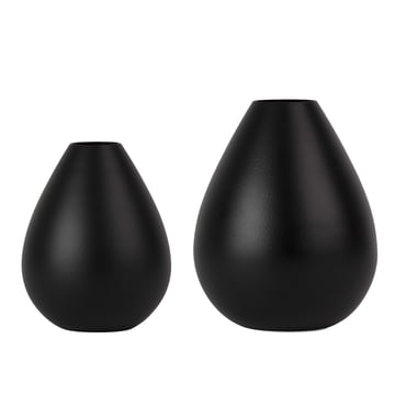 Vases Royal de Design Letters en noir