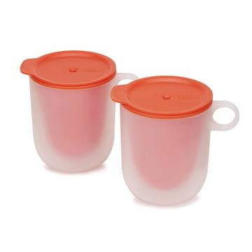 Lot de deux tasses pour micro-ondes M-Cuisine Cool-Touch de Joseph Joseph