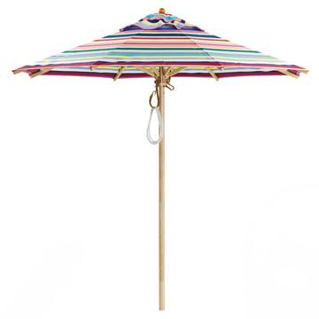 Weishäupl - Parasol classique Ø210, rond/Dolan multicolore