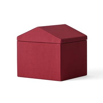 Les Modern Houses en set de 3 en rouge faisant partie des Projets Népal par Menu