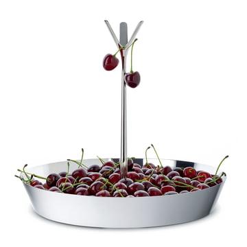 Corbeille de fruits originale avec tige ramifié