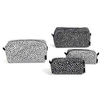 La Dot Wash bag de Hay en S/L et dans les couleurs blanc/noir